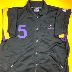 Fubu Vintage NBA Warmup Los Angeles Lakers Mens XL